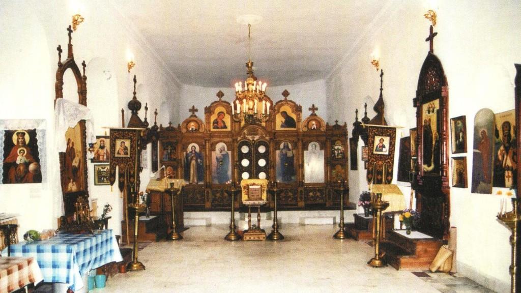 Внутреннее убранство Успенского придела Троицкого сбора