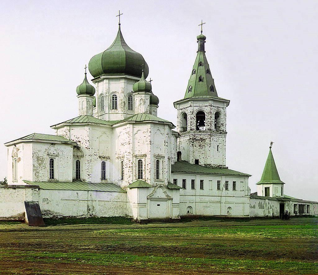 Петропавловская церковь 1912 года. Фото сделано Царским фотографом С. М. Прокудиным-Горским