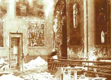 Внутреннее убранство Троицкого собора в годы советской власти